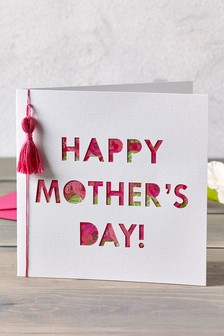 Mother's Day Tassel Card