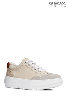 Geox Cream D Kaula Shoe