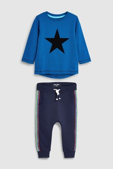 Rainbow Star T-Shirt And Jogger Set (3mths-7yrs)