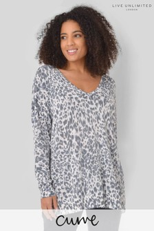 Live Unlimited Curve Animal Abstract Jumper