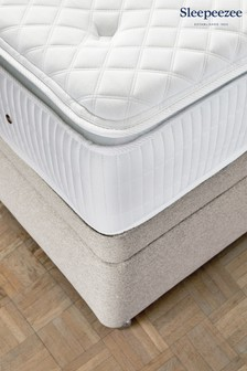 2200 Gel Mattress Divan Set By Sleepeezee
