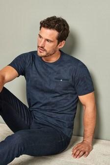 Pique Premium Floral Print T-Shirt