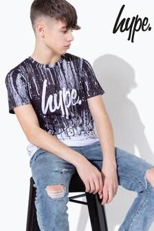 Hype. Mono Paint Drips Kids T-Shirt