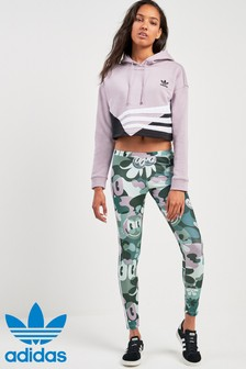 adidas Originals Floral 3 Stripe Legging