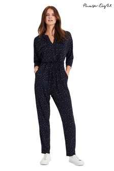 Phase Eight Blue Janice Jumpsuit