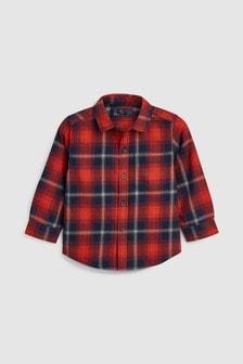 方格圖案襯衫 (3個月至7歲)