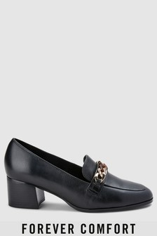 Forever Comfort Chain Detail Loafers