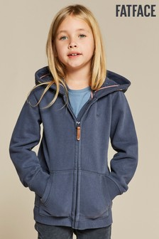 FatFace Blue Out Of This World Zip Through Hoody