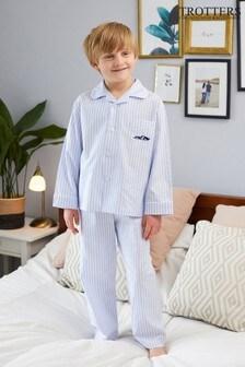Trotters London Blue Sebastian Pyjamas