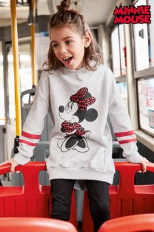 Longline Minnie Mouse™ Hoody (3-16yrs)
