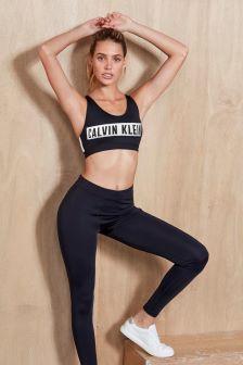 Calvin Klein Performance Black High Support Sports Bra