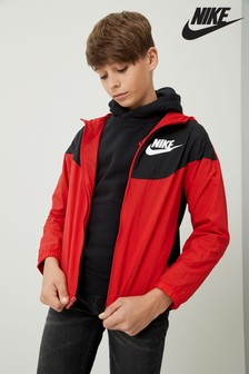 Nike Red/Black Woven Jacket