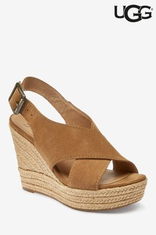 UGG® Chestnut Harlow Wedges