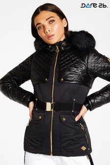 Dare 2b Julien Macdonald Black Waterproof Indulgence Jacket