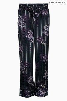 Sofie Schnoor Floral Stripe Trouser