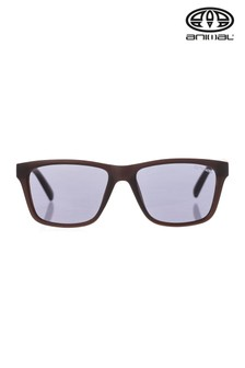 Animal Brown Inflame Square Matte Finish Sunglasses