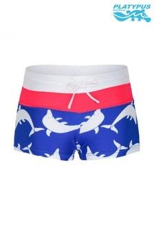Platypus Australia Aquarium Panel Boy Leg Swim Short