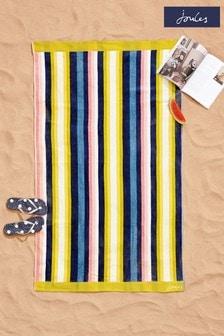 Joules Summer Stripe Beach Towel