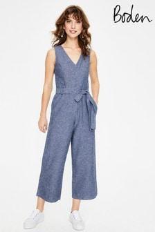 Boden Blue Verity Jumpsuit