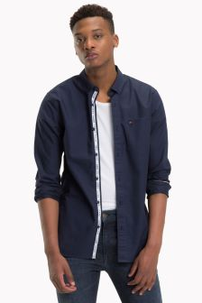 Tommy Jeans Blue Classic Shirt