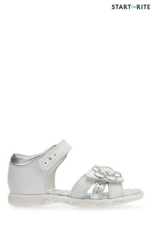 Start-Rite White Phoebe Sandal