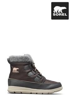 Sorel® Dark Slate Explorer Carnival Boots