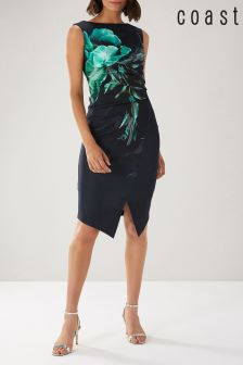 Coast Blue Dawn Scuba Shift Dress