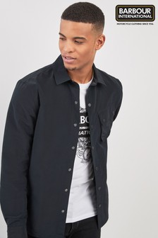 Barbour® International Black Control Overshirt