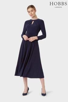 Hobbs Blue Suri Dress