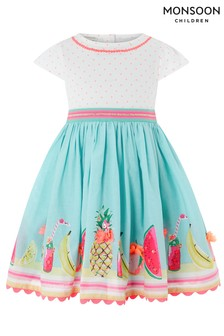 Monsoon Baby Tropical Mini 2 In 1 Dress