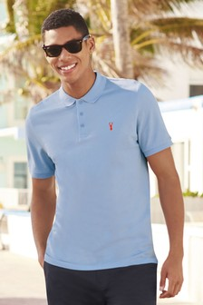 62c41b1a Buy Men's tops Tops Blue Blue Poloshirts Poloshirts from the Next UK ...