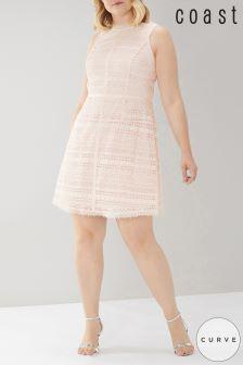 Coast Curve Pink Kourtney Lace Dress