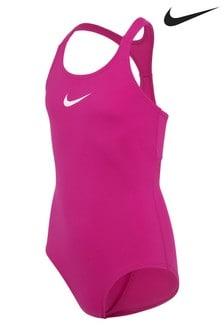 Nike Pink Hydrastar Swimsuit