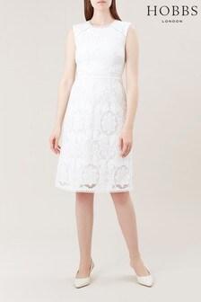 Hobbs White Skylar Dress
