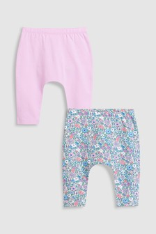 Frill Leggings Two Pack (0mths-2yrs)
