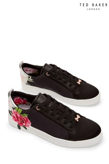 Ted Baker Black Rialy Trainers
