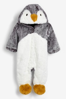 Penguin Pramsuit (0mths-2yrs)