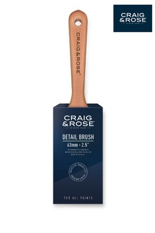 Craig & Rose Wood 63mm Detail Paint Brush