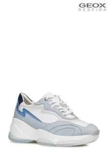 Geox White D Kirya Shoe