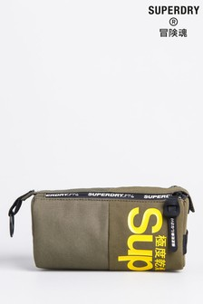 Superdry Double Zip Pencil Case