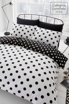 Catherine Lansfield Polka Dot Bed Set