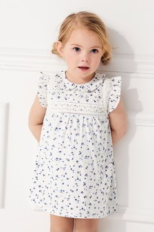 Collar Ditsy Dress (3mths-7yrs)
