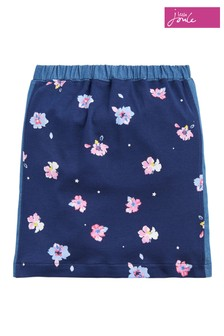 Joules Blue Geri Girls A-Line Skirt