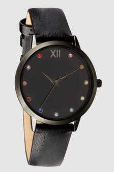 Rainbow Stone Dial Watch
