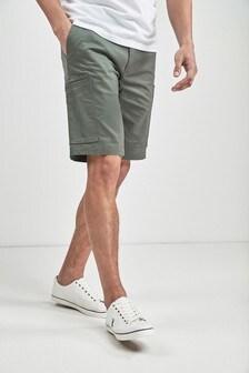 Slim Smart Cargo Shorts