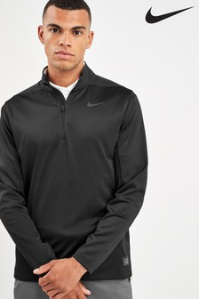 Nike Golf Black AeroLayer 1/2 Zip Top