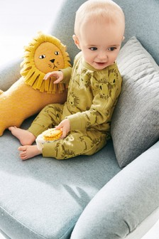 Lion Crew And Joggers Set (0mths-2yrs)
