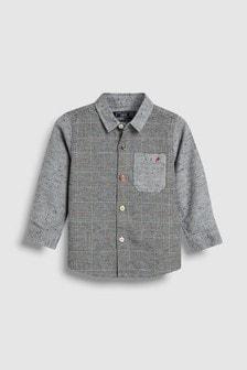 Check Spliced Shirt (3mths-6yrs)