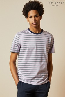 Ted Baker Chi Short Sleeve Printed Stripe T-Shirt
