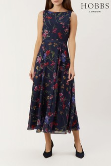 Hobbs Navy Carly Dress